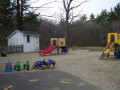 Playground slide and riding toys